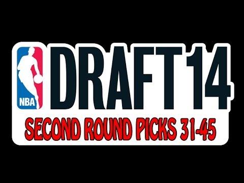 NBA Draft 2014 - Second Round - Picks 31-45