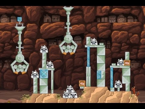 Angry Birds Star Wars Weekly Tournament 19 Level 2 Apr 22nd 2013 - Facebook
