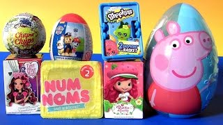 STRAWBERRY SHORTCAKE TOYS SURPRISES 2017 EVER AFTER HIGH Dolls, NUM NOMS SHOPKINS PEPPA by FUNTOYS