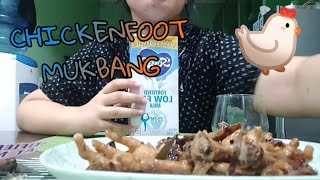 CHICKEN FEET MUKBANG | ASMR