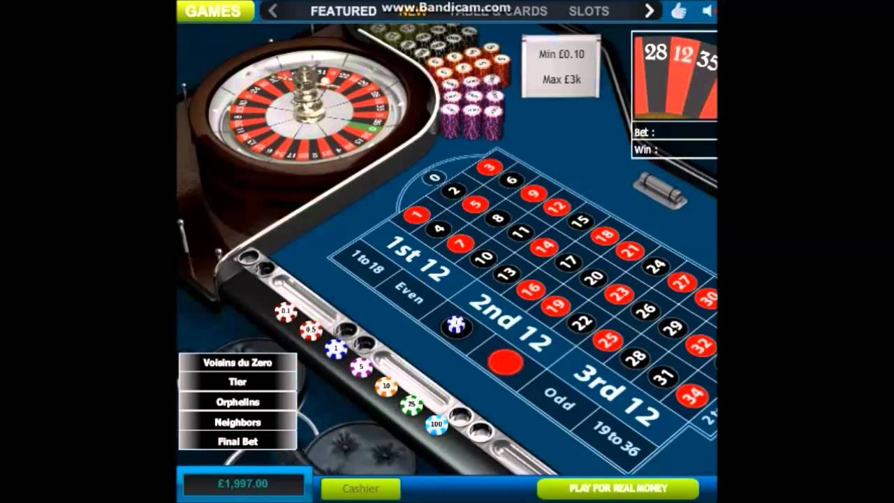 Sistemi roulette hollywood does the martingale system work in blackjack