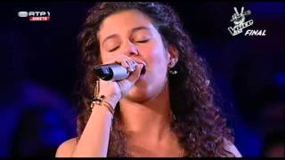 "Raquel Tavares com Salomé Silveira e Filipa Ferreira - ""Foi Deus"" - Final The Voice Kids"