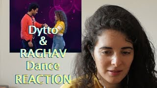 German Lady React To Dytto and Raghav Combination Dance