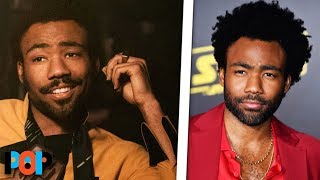 Donald Glover Had To Lie To Friends About Being Lando