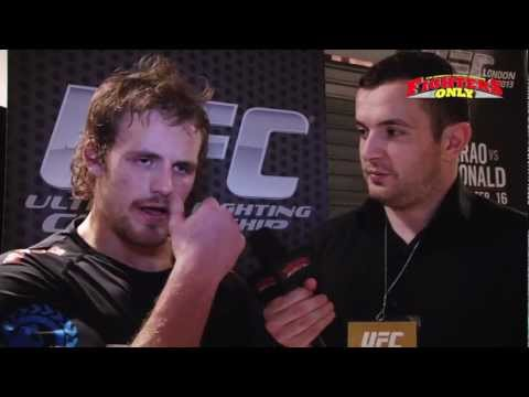UFC on Fuel 7 Gunnar Nelson post fight interview