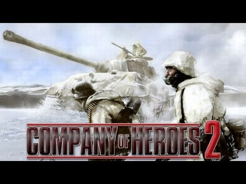 Company of Heroes 2 Gameplay #5 - Close Game