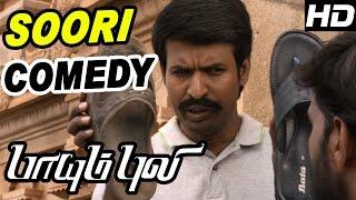 Paayum Puli Tamil Movie | Scenes | Vishal Kills Rajasimman | Soori Comedy | Vishal | Soori |