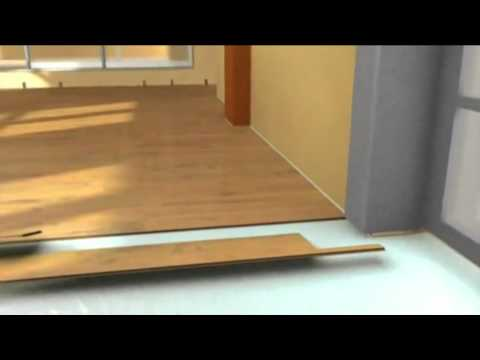 Укладка ламината своими руками видео
