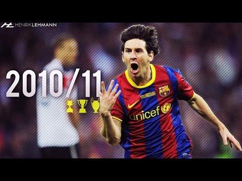Lionel Messi ● 2010/11 ● Goals, Skills & Assists
