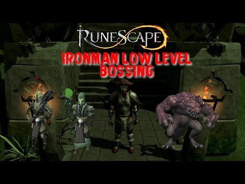 Runescape 3 - Ironman - Low level bossing