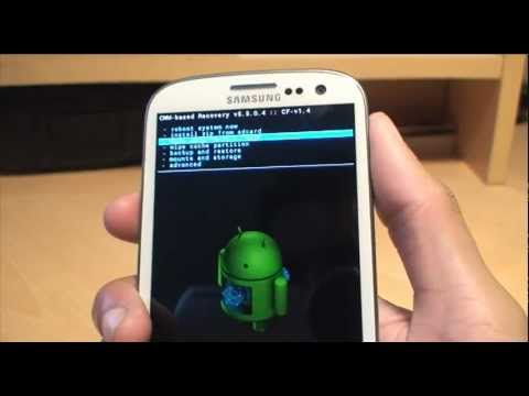 How to Install Setup Android 4.1 Jelly Bean on Samsung Galaxy S3 Alpha Build / H