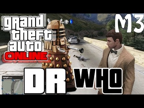 Doctor Who In GTA 5 Online! - The Business Update DLC Random Moments