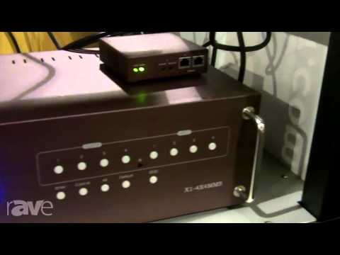CEDIA 2013: norXtar Highlights the X1-4X4MMS Matrix Modular