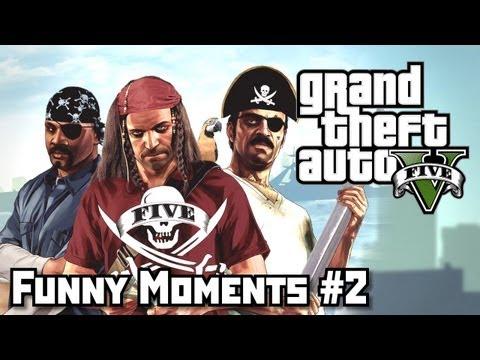 GTA 5 Приколы (Funny Moments) #2