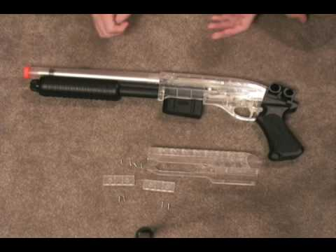 Airsoft Mossberg m590 shotgun review Part 2