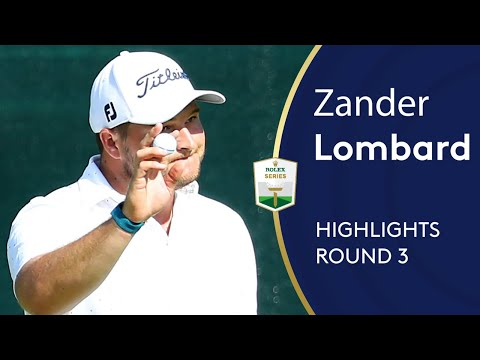 Zander Lombard shoots 72 to lead in Sun City | Round 3 Highlights | 2019 Nedbank Golf Challenge