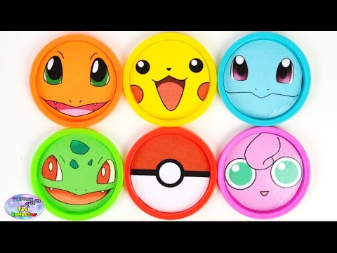 Learn Colors Pokemon Pikachu Finding Dory Angry Birds MLP Toys Surprise Egg and Toy Collector SETC