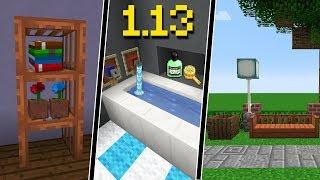 10 IDÉIAS DE DECORAÇÃO COM OS NOVOS BLOCOS DO MINECRAFT 1.13!