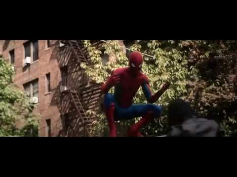 Spider man Homecoming : helping scene.