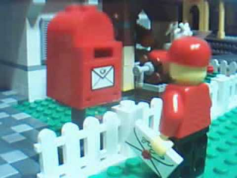 LEGO La Vida de un Cartero