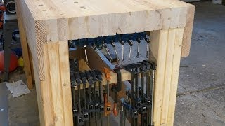 Under Bench Clamp Storage