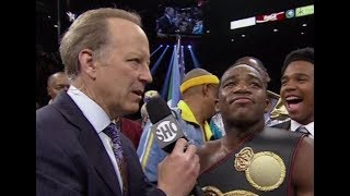 Adrien Broner Jim Gray Interview Post Fight Pacquiao vs Broner Loss MY THOUGHTS REVIEW