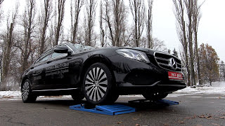2hp: New Mercedes E-Class. 4MATIC System Test