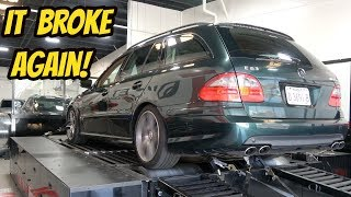 I DYNO Tested My Mercedes E63 Wagon with 204,000 Miles, and IT BROKE AGAIN!!!