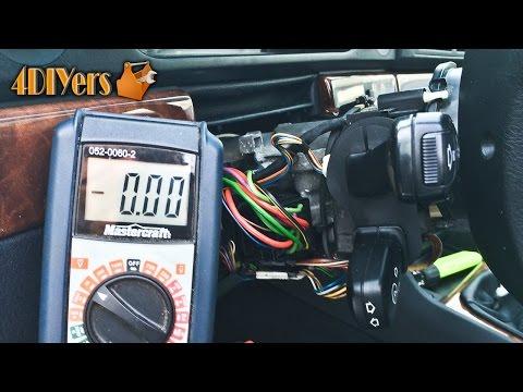 DIY: BMW E39 Igniton Switch Testing