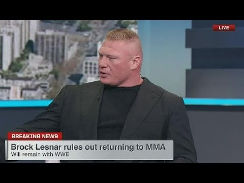 Brock Lesnar Staying With WWE, Why Are People So Excited?