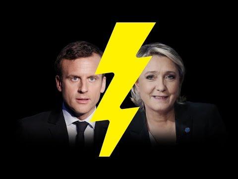 Emmanuel Macron et Marine Le Pen vainqueurs du 1er tour (Ma réaction)