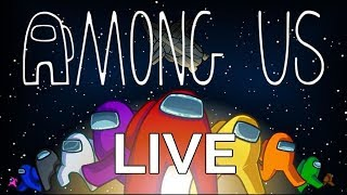 AMONG US COM INSCRITOS - AO VIVO