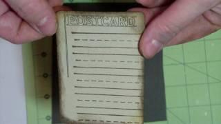 How to make a Vintage Postcard using Cri-Kits.MP4