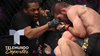 Polémica y bronca en derrota y regreso de McGregor al octágono | MMA | Telemundo Deportes