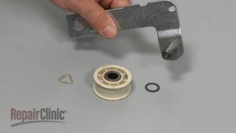 Dryer idler pulley assembly