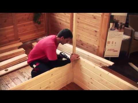 Karibu Sauna Aufbauanleitung - Sauna Aufbau Mit Holzprofi24