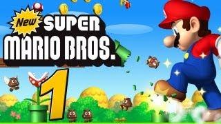 Let's Play New Super Mario Bros. Part 1: Rückkehr der Mario Bros Serie!