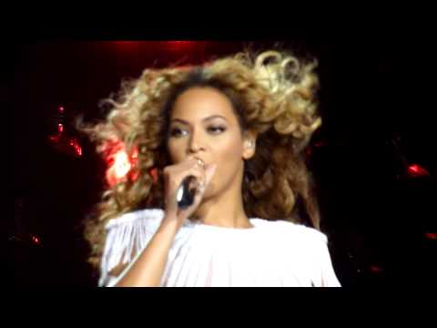Beyonce - Intro & Run the World (Girls) Live - LG Arena, Birmingham, UK, April 2013