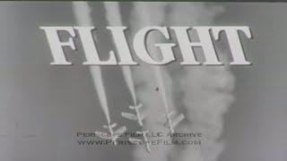 """FLIGHT TV SHOW """"Final Approach"""" EPISODE 17 B-47 STRATOJET 1958 8258"""