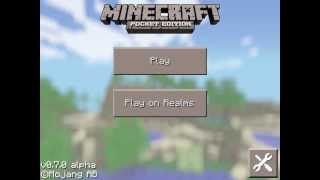 Minecraft Pocket Edition 0.7.0