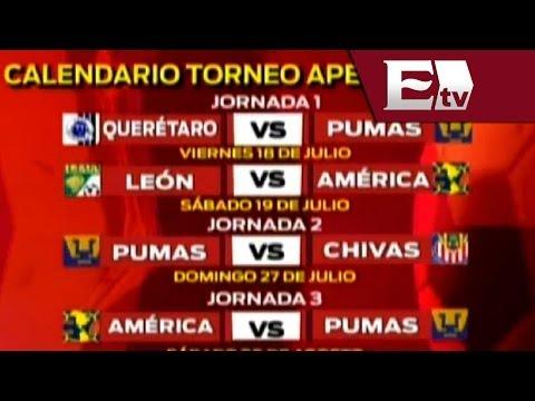 Listo el calendario para el Torneo Apertura 2014; Querétaro-Pumas abren actividad/ Gerardo Ruiz