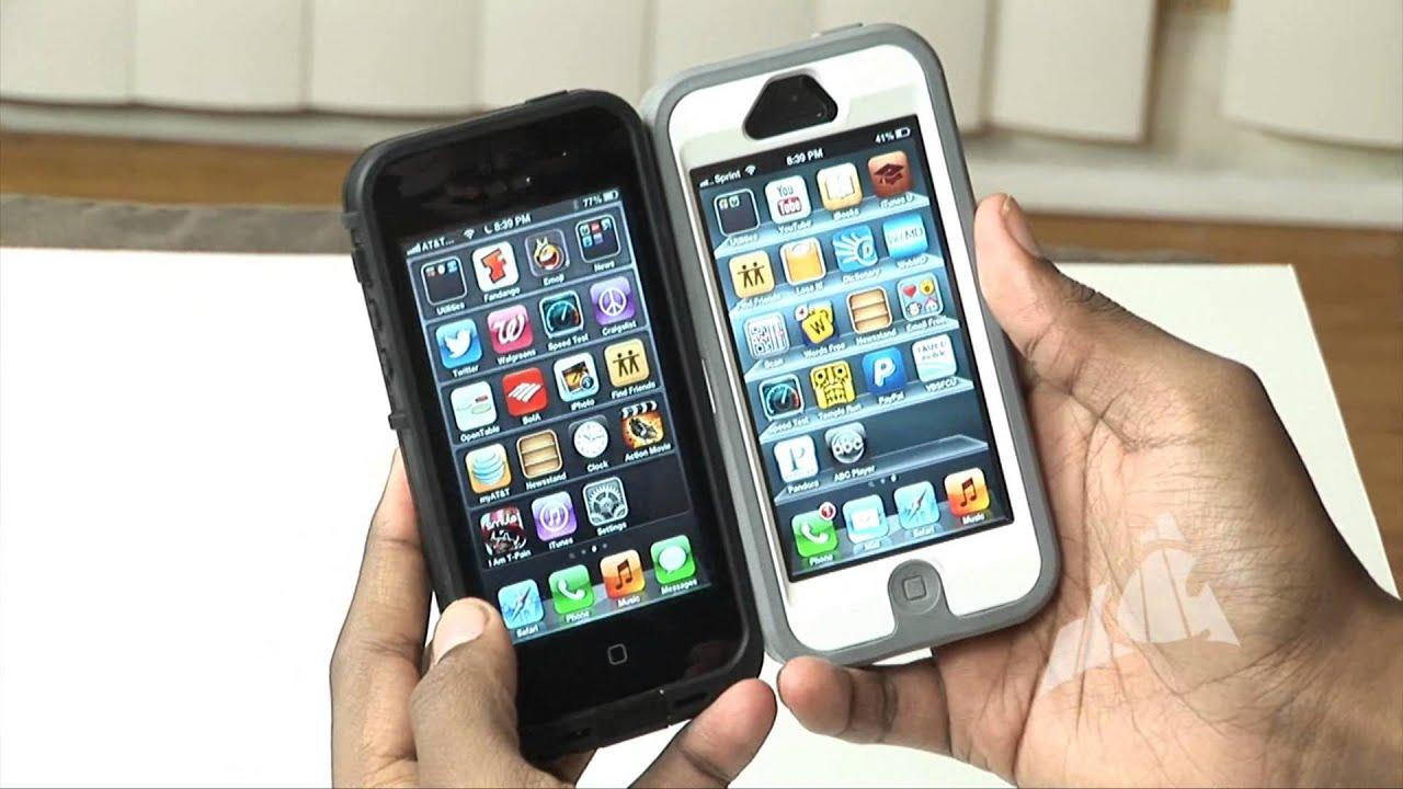 Iphone 5 lifeproof vs otterbox youtube