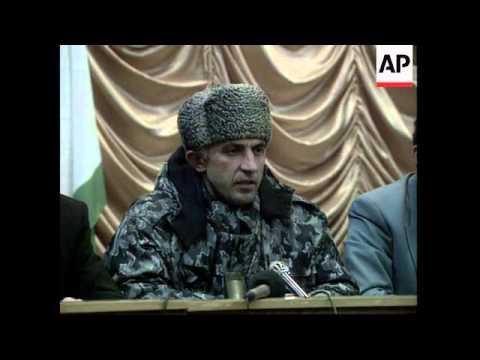 RUSSIA: CHECHNYA: ASLAN MASKHAEV :CHECHEN DEFENCE MINISTER
