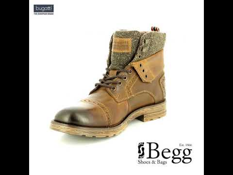 Bugatti Steve 32161232-6300 Brown boots