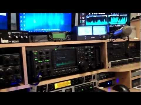 G0SEC quick shack tour and QSO on Dstar Part 1