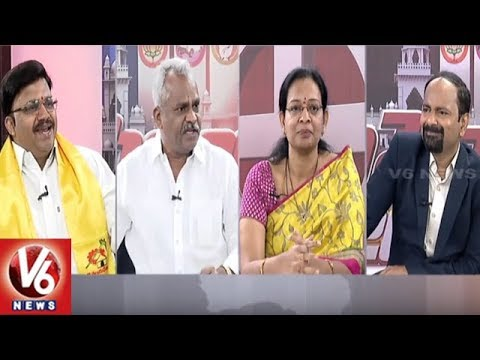 Special Discussion On Chandrababu Vs KCR Election Campaign | Good Morning Telangana | V6 News