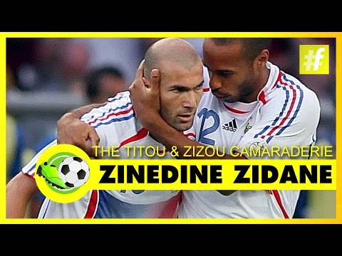 The Titou and Zizou Camaraderie | Zinedine Zidane - Zizou The Great