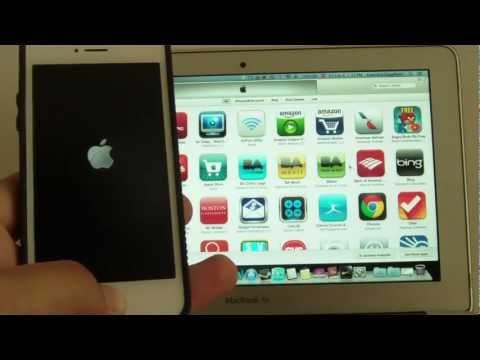 iPhone queda trabado congelado en manzana logo