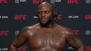 UFC Vegas 6: Derrick Lewis Interview after KO win