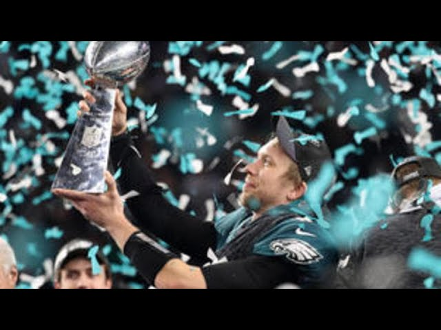 Eagles win Super Bowl, top Patriots 41-33